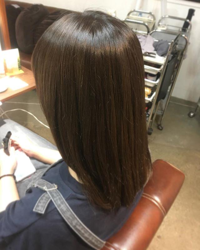 本日予約承れます#hair #hairstyle #color #イルミナ #イルミナカラー #グレージュ #外国人風 #川越美容室 #UNION