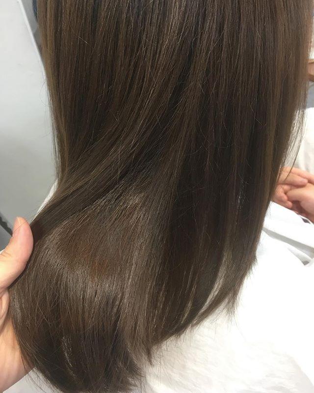 明日以降ご予約承れますLINEまたはお電話からのご予約お待ちしております#hair #hairstyle #haircolor #イルミナカラー #外国人カラー #グレージュ #川越美容室 #UNION