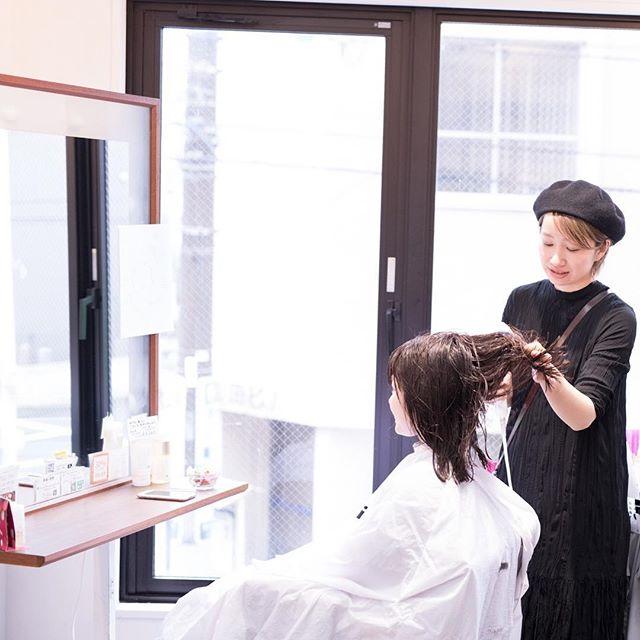 本日藤田担当のヘアスタイル撮影3名行いました。4月公開です。お楽しみに